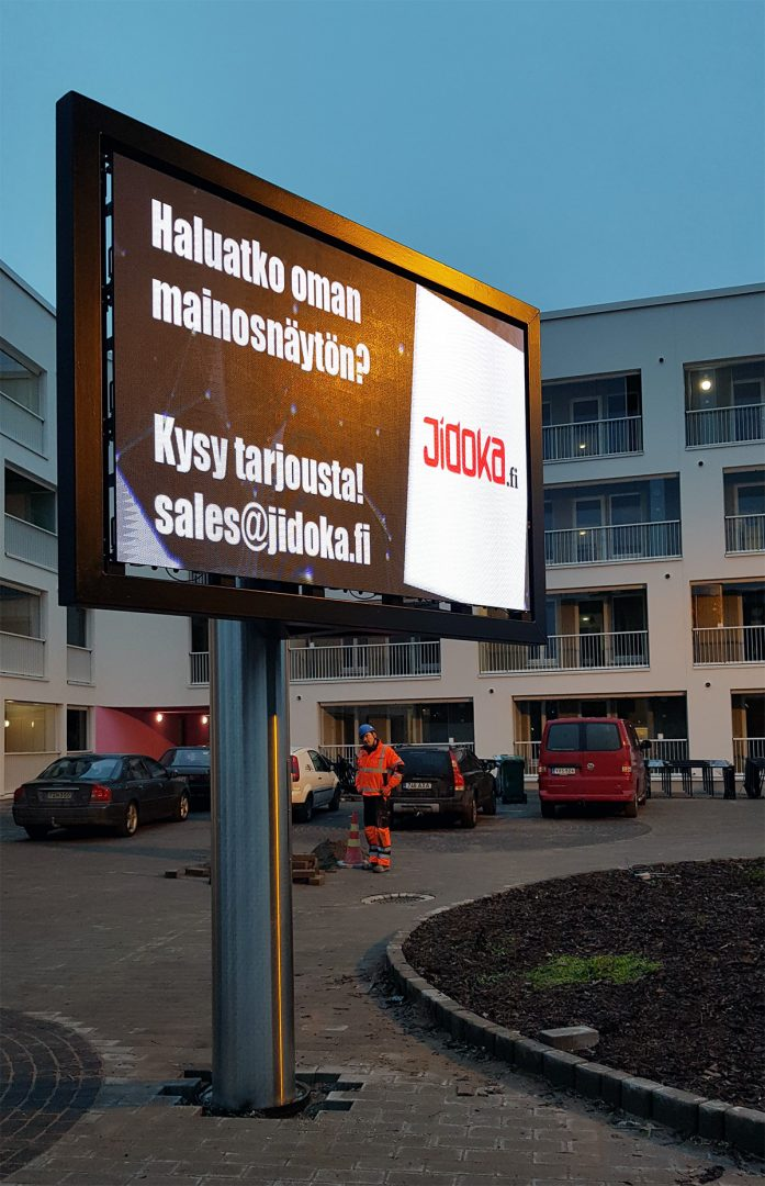 P4 led screen Pirkkala