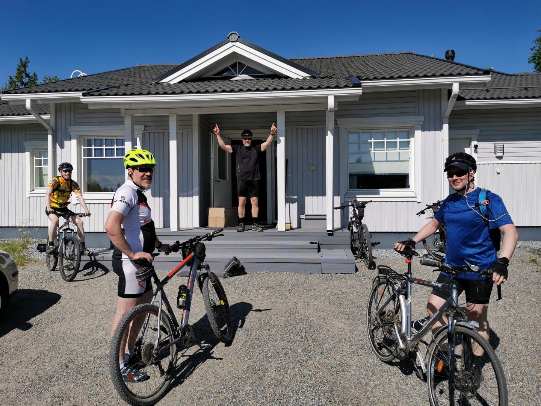 toimisto pyöräily
