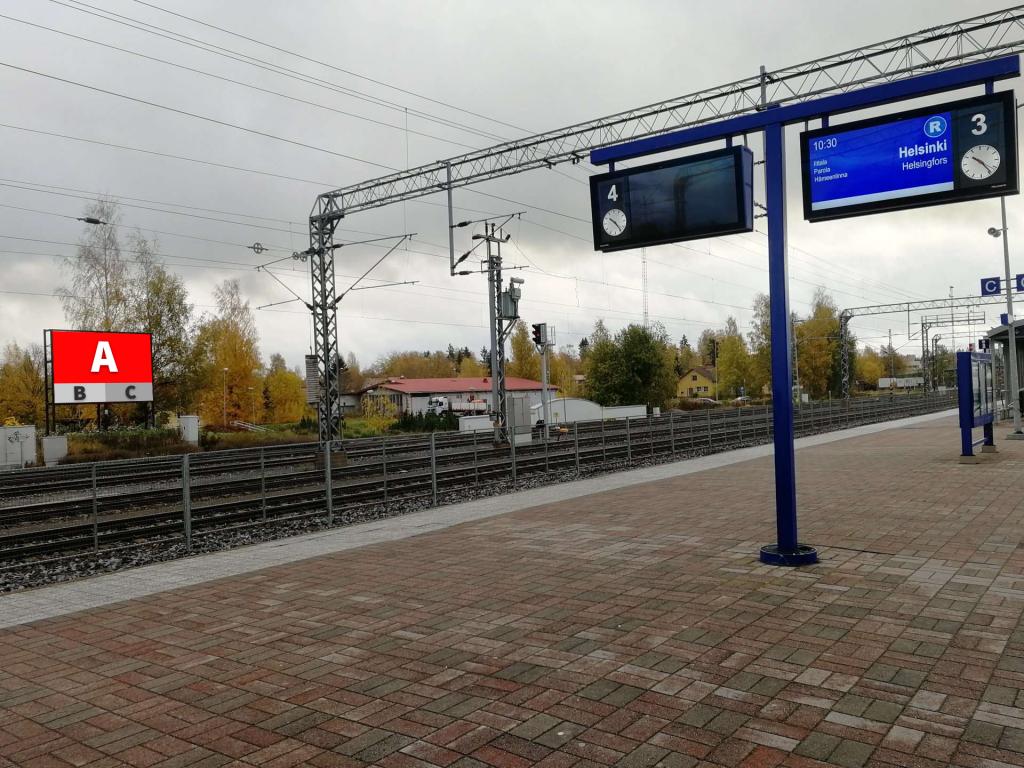 Toijalan Loisto - LED tienvarsinäyttö näkyville mainoksille