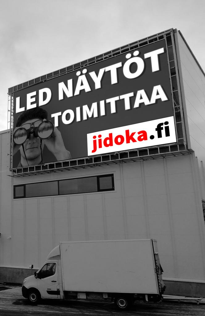 LED-näytöt pakettiratkaisuna - Etra