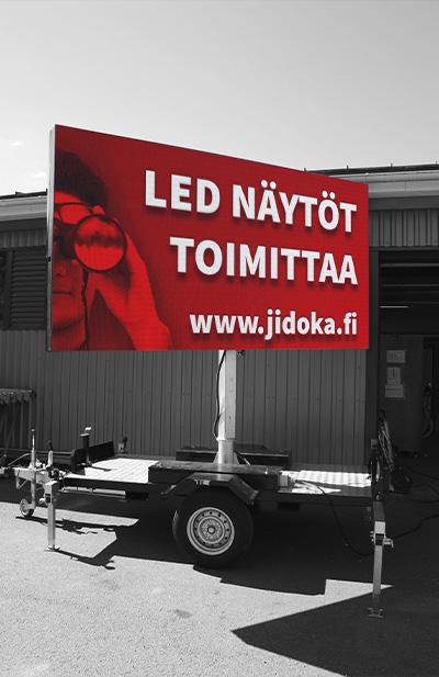 LED-näytöt - vuokrattava LED-kärry
